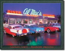 LEWIS - Al Mac Diner Tin Sign
