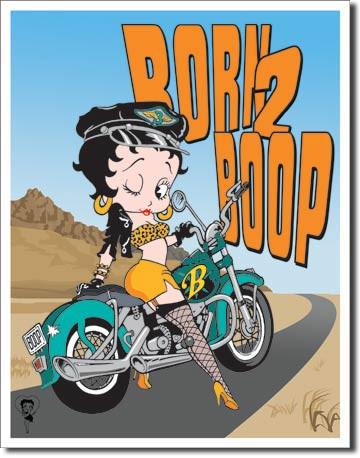 BOOP - BORN 2 BOOP Tin Sign