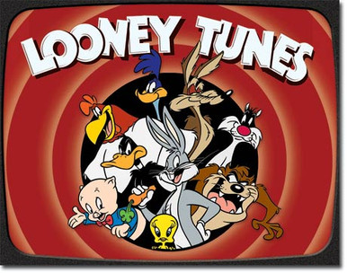 Looney Tunes Family Tin Sign