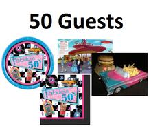 Fabulous 50s Pack (medium - 50 guests)