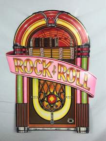 Wall Hanging Rock and Roll Jukebox
