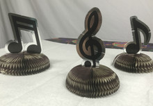 Musical Note Centerpiece