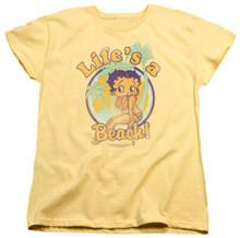 Betty Boop - Life's a Beach Womens Tee