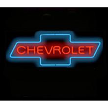 Chevy Bowtie Neon Bar Sign