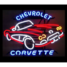 Chevy Corvette Neon Bar Sign