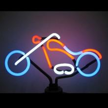 Chopper Neon Sculpture