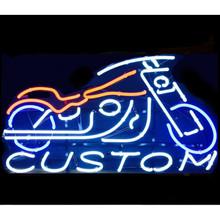 Custom Bike Neon Bar Sign