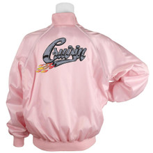 Pink Satin Jacket Cruisin