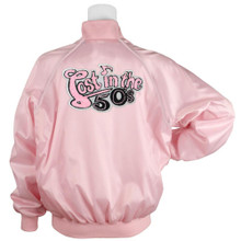 Pink Satin Jacket Lost in the 50s