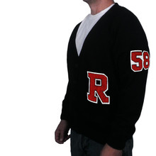 Varsity Letter Sweater with Number and Letter