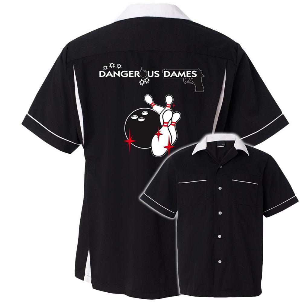 Bowling Shirt Dangerous 1 Image Dames 6PHwUf