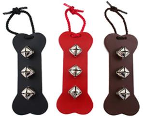 Potty Training Bells | Leather Bone | 3 Colors