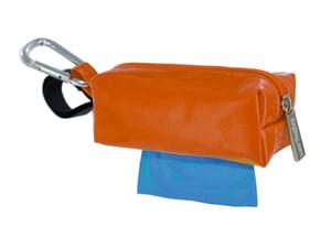 Duffel Dog Waste Bag Holder | Orange