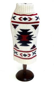 Aztec Dog Sweater | Oatmeal