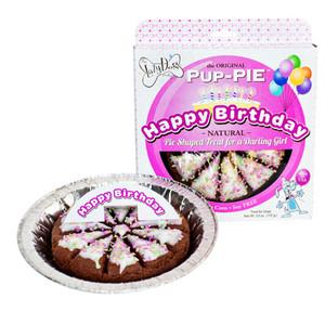Happy Birthday Darling Girl Pup Pie