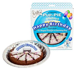 Happy Birthday Charming Boy Pup Pie