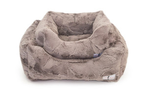 Lux Dog Bed   Taupe