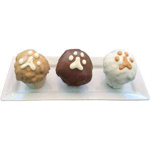 Dog Birthday Cupcake   3 Pack