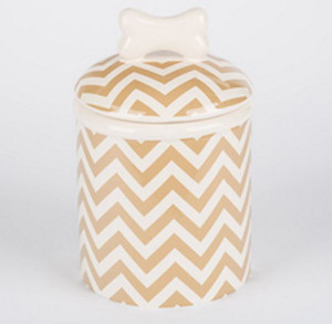 Chevron Treat Jar