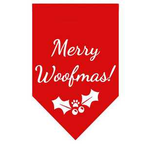 Merry Woofmas Pet Bandana