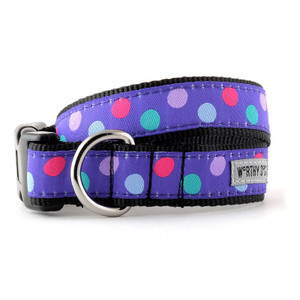 Purple Gum Ball Dog Collar