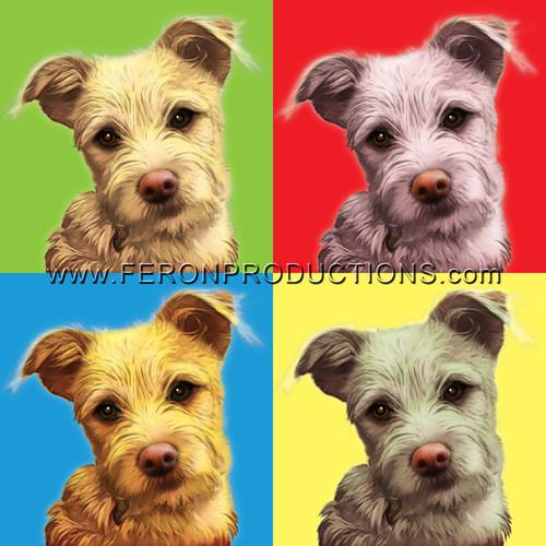 Turn Your Pet's Photo Into Pop Art! | 4 images