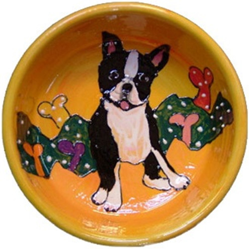 Boston Terrier Dog Bowl