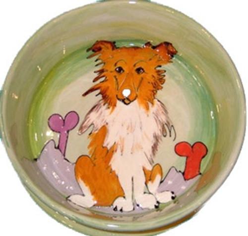 Collie Dog Bowl