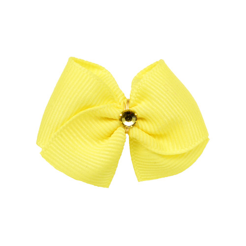 Lemon Dog Hair Bow