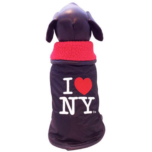 I Love NY Outerwear Dog Coat