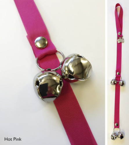 Potty Training Bells | Hot Pink