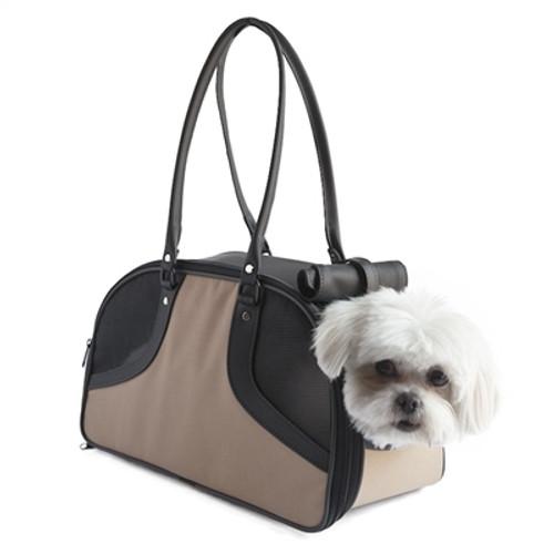 Khaki Roxy Pet Carrier