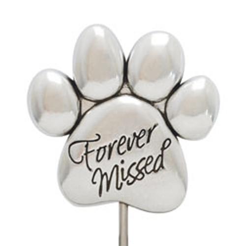 Forever Missed Pet Memorial Garden Stake