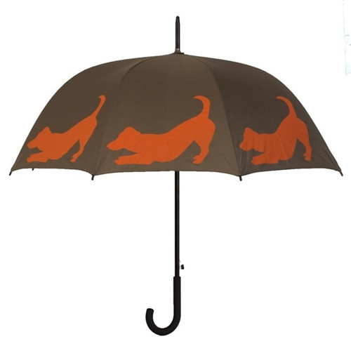 Jack Russell Silhouette Umbrella