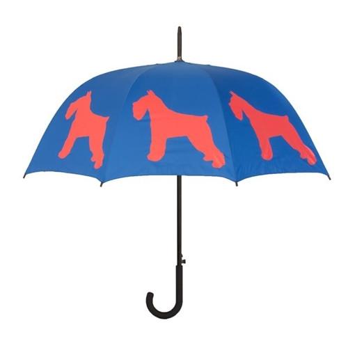 Schnauzer Silhouette Umbrella