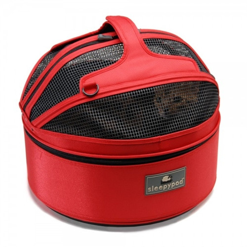 Sleepypod Mobile Pet Bed    Strawberry Red   2 Sizes