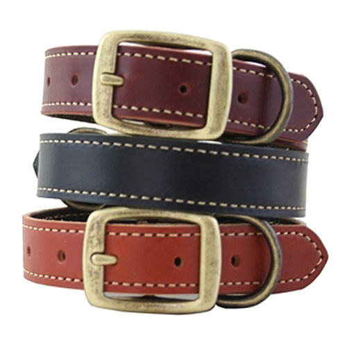 Lake Country Stitched Dog Collars