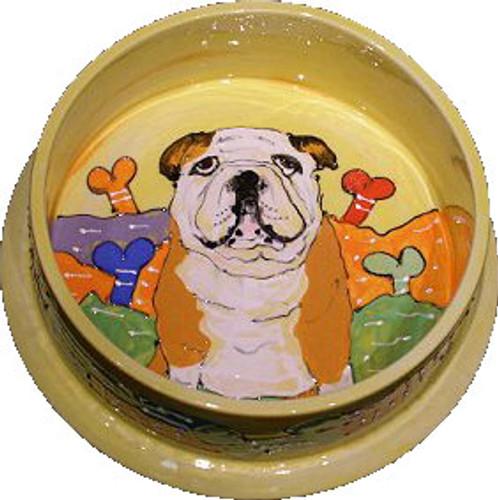 Bulldog Dog Bowl