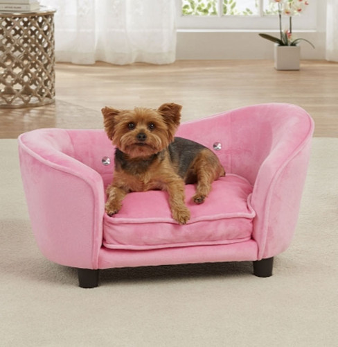 Ultra Plush Snuggle Bed | Pink