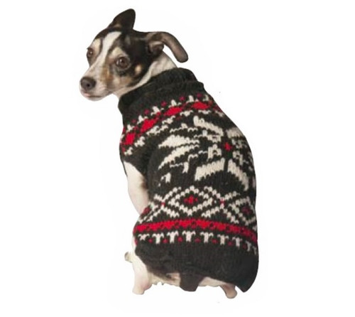 Nordic Snowflake Dog Sweater
