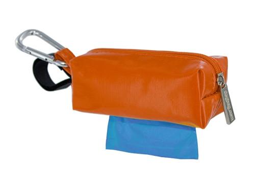 Duffel Dog Waste Bag Holder   Orange