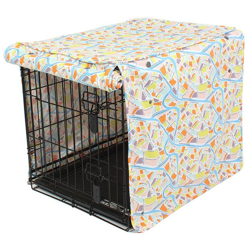 Crossroads Dog Crate Cover | 4 Sizes