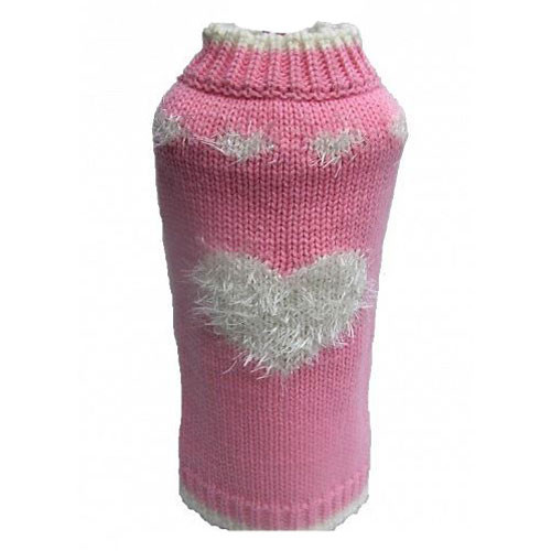 Sweetheart Dog Sweater | Pink
