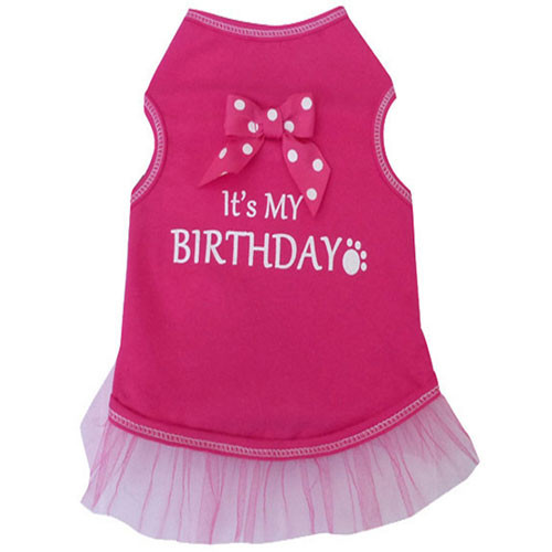 It's My Birthday Tank Dress