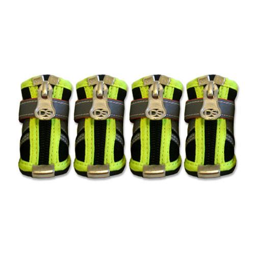Reflector Dog Boots | Black