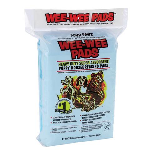 Four Paws Housebreaking Wee Wee Pee Pads   50Pk