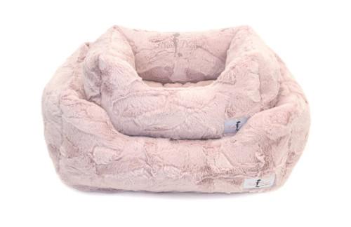 Lux Dog Bed | Blush