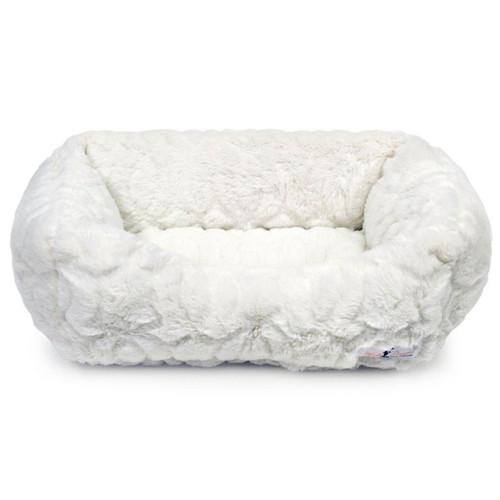Moscow Luxury Dog Bed | Ivory