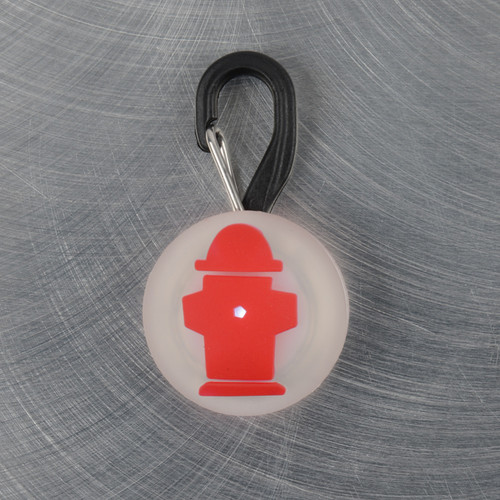 PetLit LED Collar Light | Red Hydrant