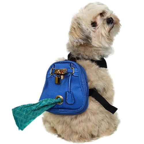 Mandy Doggy Backpack   Cobalt